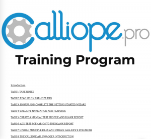 Using Calliope is easy